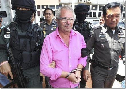Marc De Schutter in Thailand bij aanhouding - 2