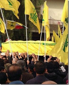 Hezbollah - begrafenis - 2 - Maart 2014