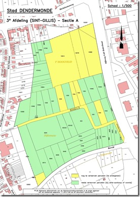 Hoogveld I - Onteigeningsplan