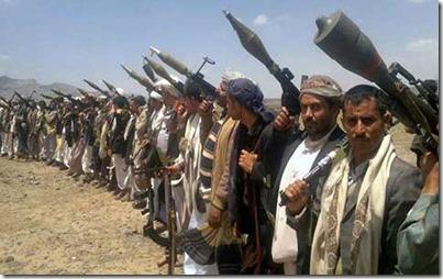 Houthi soldaten