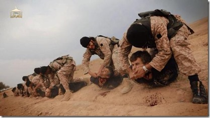 ISIS in Yarmouk - Onthoofdingen Hamasleden - 3 april 2015