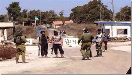 Jabhat al Nusra met Israëlische soldaten - Februari 2015