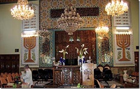 Mahariv synagoge in Teheran, Iran