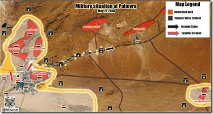 Palmyra-Tadmud - Militaire situatie - 4  - 17 mei 2015
