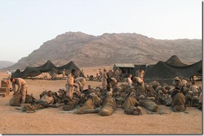 Amerikaanse militairen doen training in Jordanië