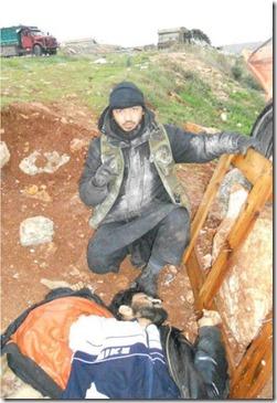 Bherlin Gildo - Zweeds lid al Nusra met lijk