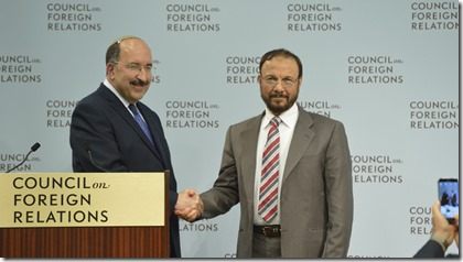 Dore Gold en de Saoedische generaal Anwar bin Majed bin Anwar Eskhi