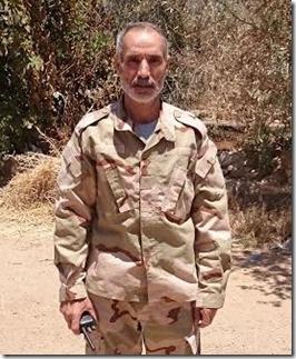 Fayez Mjareesh, Brigade generaal Zuidelijk Front - 11-09-2015