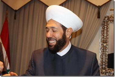 Ahmad Badr al Din Hassoen - moefti van Syrië - 1