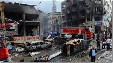 Bomaanslag betoging Ankara - 10 oktober 2015 - 1