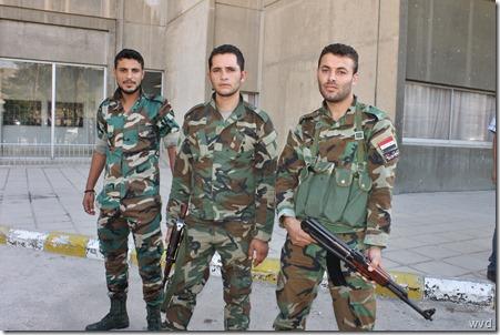 Syrische soldaten, Harastan