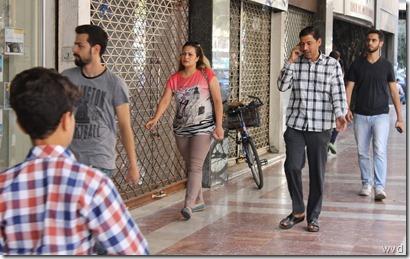 Beeld van Maysalounstraat, Damascus