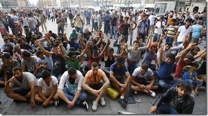 Vluchtelingen in Europa - 1