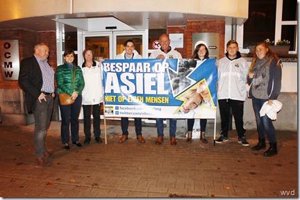 Betoging Vlaams Belang - OCMW-Dendermonde - 28-10-2015