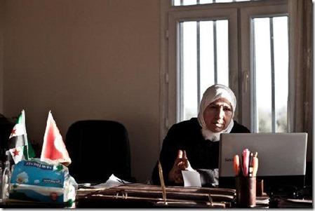 Lamia Nahas - Syrische oppositie