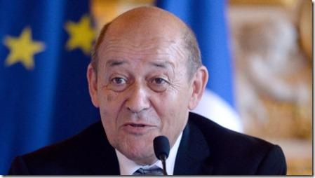 Jean-Yves le Drian - Frans minister van Defensie -2