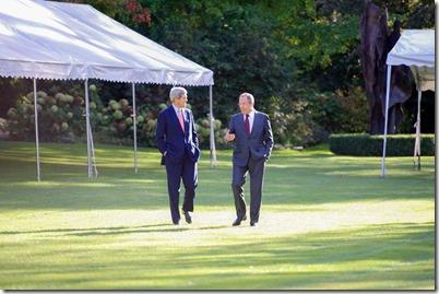 John Kerry met Sergei Lavrov - 1