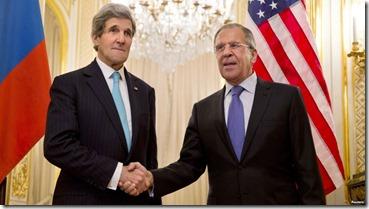 John Kerry & Sergeï Lavrov - 1