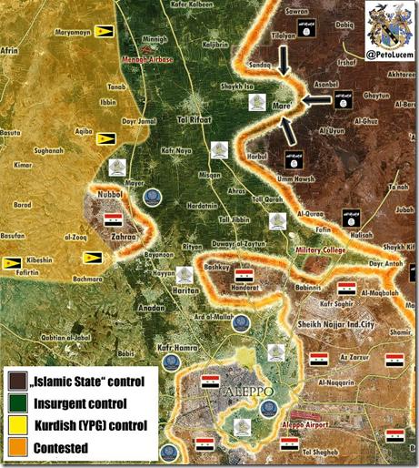 Aleppo - 29 - Militaire situatie 06-09-2015