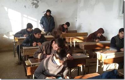Idlib school - Februari 2016