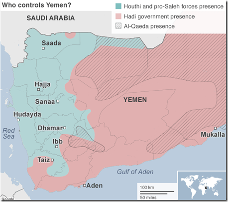Jemen - Militaire situatie - 5 - 21 December 2015