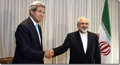 Mohammad Zarif en John Kerry