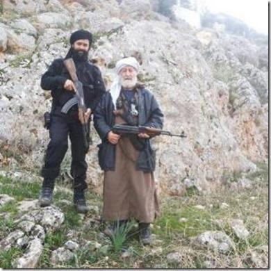 Sjeik Bassam Ayachi in Syrië