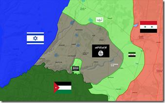 Daraa - Militaire situatie - 10 - 25 Maart 2016