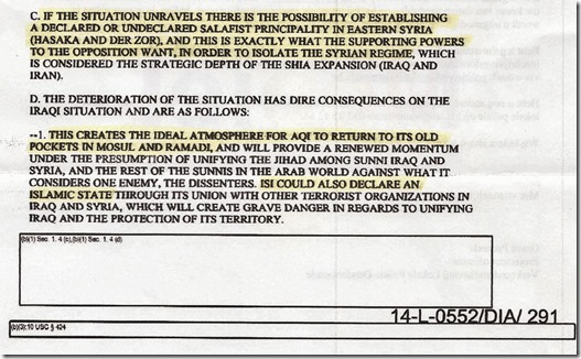 DIA - Rapport 12 augustus 2012 - Syrië, Irak, al Qaeda - pag 3