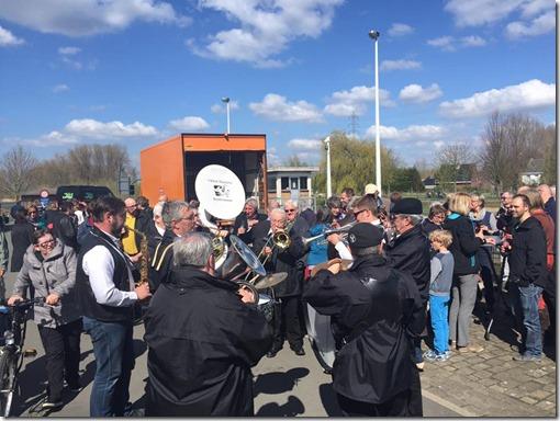 Actie doorgang sas - Klein Muziekske - 10-04-2016