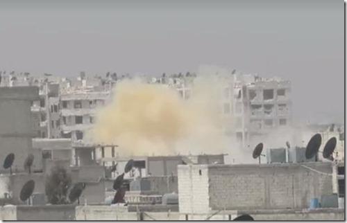 Gasaanval - Sjeik Maksoed Aleppo - 8 april 2016
