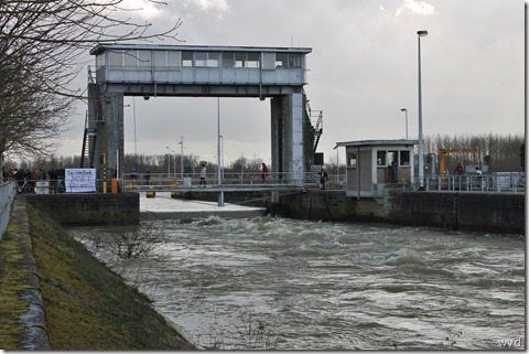 Dendersluis in Denderbelle/Mespelare