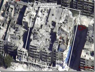 Aleppo - Al Quds hospitaal - 29-04-2016