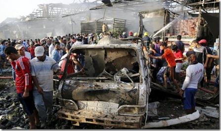 Baghdad - aanslagen - 3 juli 2016