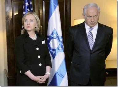 Hillary Clinton & Benjamin Netanyahu