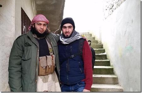 Abdallah Muhammad bin Sulayman al Muhaysini (links) en Hadi Abdullah