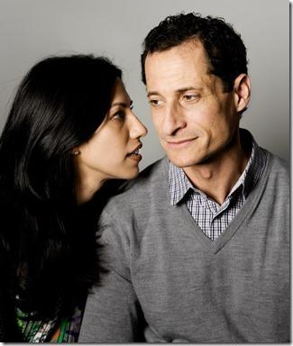 Huma Abedin met Anthony Weiner