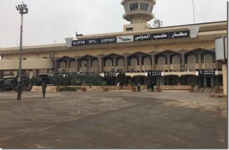 Aleppo - Internationale luchthaven - 21-12-2016