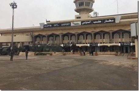 Aleppo - Internationale luchthaven - 21-12-2016