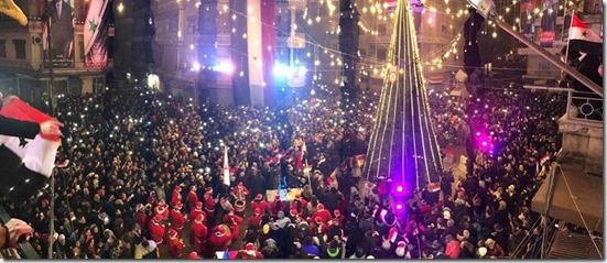 Aleppo - Kerstboom - 21-12-2016