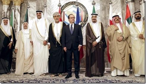 François Hollande met top Samenwerkingsraad voor de Golf - 5 mei 2015