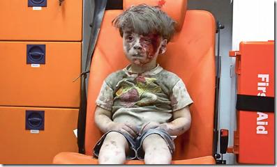 Omran Daqneesh - Aleppo - September 2016
