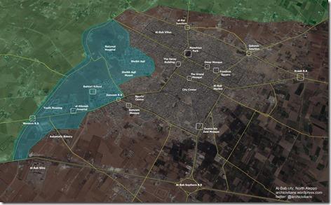 Al Bab - Militaire situatie - 15 - 10 februari 2017