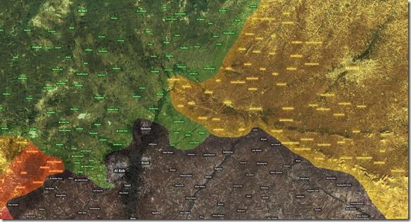 Al Bab - Militaire situatie - 5 - 11 december 2016 - kopie