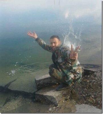 Eufraat - Syrisch leger - 7 maart 2017