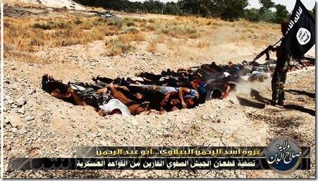 ISIS - Met gevangenen executie - 2 - 15-06-2014