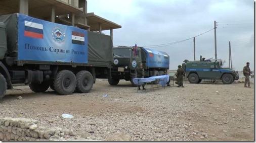 Manbij - Russisch militair voertuig - 4 maart 2017
