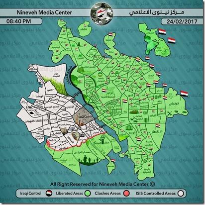 Mosoel - Militaire situatie 22 - 25 februari 2017