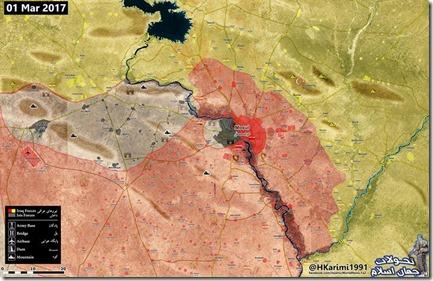 Nineveh - Militaire situatie - 2 - 02 maart 2017