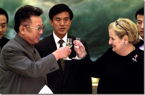 Madeleine Albright in Noord-Korea